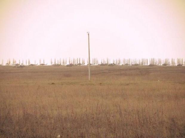 Russian helicopters near the Ukrainian border at Belgorod. Photo: Censor.net.ua