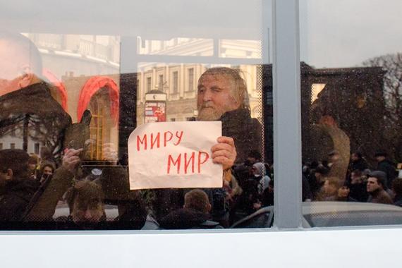 "Local activist, Igor ""Stepanych"" Andreyev. Photo: Sergey Chernov / For SPT"