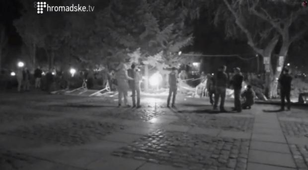 kharkiv tent destruction